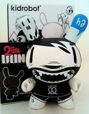 "DUNNY 3"" 2TONE SERIES MCBESS ?/?? CHASE MONO KIDROBOT TOY FIGURE COLLECTIBLE NEW"