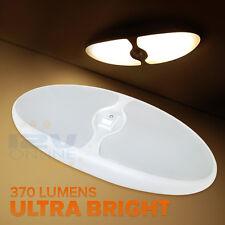 12V RV Interior LED Ceiling Light Camper Boat LED Head Lamp Ultra Bright Warm W