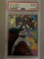 Gavin Lux 2020 Topps Finest '98 The Man PSA 10 GEM MINT