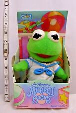 THE MUPPETS JIM HENSON'S KERMIT THE FROG MUPPET BABIES DOLL 1992 NEW IN BOX