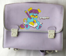 VERY RARE VINTAGE 1987 POPPLES SCHOOL BAG MADE IN ITALY NEW NOS !