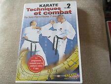 """DVD """"KARATE, VOLUME 2 : TECHNIQUES ET COMBAT"""" Jean-Pierre FISCHER, 7eme dan"""