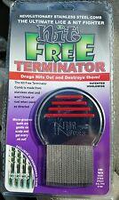 Original Nit Free Brand Terminator Comb Rid Head Lice uni sex long short hair #1