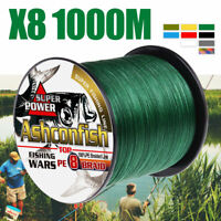 8 Strands 8 Braided 1000M Strong Fishing Line Japan Line Multifilament PE Line