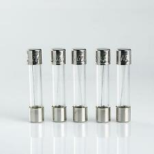 10 x FAST QUICK BLOW (Fast Acting) AGC 2A 12v GLASS Fuses 6x30mm 2amp