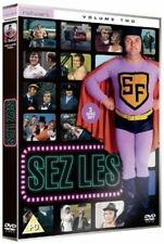 SEZ LEZ volume two 2. Les Dawson, Roy Barraclough. 2 discs. New sealed DVD.