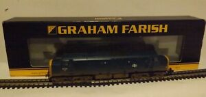 GRAHAM FARISH 371-455..A CLASS 37 DIESEL IN B.R BLUE (WEATHERED) +6DCC & SOUND.