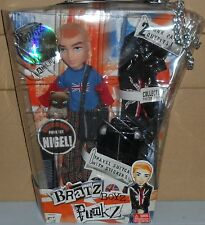 (NIB) BRATZ BOYZ PUNKZ Cameron with Extra Outfit, Suitcase and Pet...Can Post