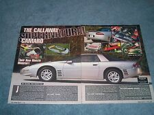 "1995 Callaway 4th Generation Camaro Vintage Article ""Supernatural"""