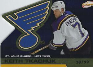 2002-03 Pacific Atomic Hobby Parallel Gold Keith Tkachuk #38/99