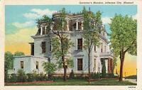 Postcard Governor's Mansion Jefferson City Missouri
