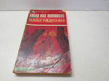 Tarzan the Untamed by Edgar Rice Burroughs vintage Ballantine Books paperback