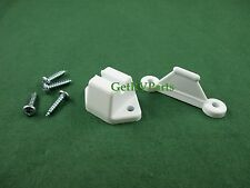 New - Topline | T1005C-04 | RV Door Retainer Holder Clip White