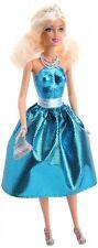 Barbie Princess In Blue Dress T7590 2010