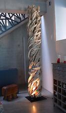 Lianen-Lampe H.330cm, Leuchte Stehlampe Wurzelholz Schwemmholz Liane