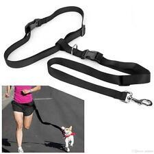 Hands free Dog Lead Walking Running Jogging Waist Belt Leash Adjustable 8 Colors