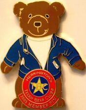 Herrington Teddy Bear Club HTB 2005 TBC Member Exclusive PIN New on Card!