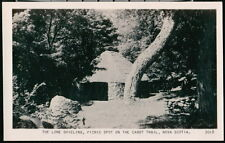 CAPE BRETON NOVA SCOTIA CANADA Cabot Trail Lone Shieling Vtg RPPC Postcard Old