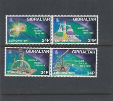 GIBRALTAR 1994 EUROPA SCIENTIFIC Discoveries set of 4 - MNH ..... REDUCED !!!