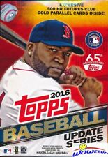 2016 Topps UPDATE Baseball HUGE EXCLUSIVE Factory Sealed Hanger Box-72 Cards !