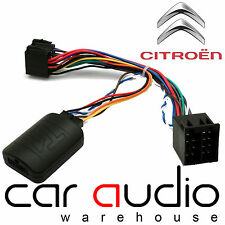 T1-CT2-ALPINE Citroen Xsara Picasso C2 C3 C5 C8 Steering Wheel Interface Adaptor