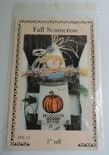 "Dianna Marcum ""Fall Scarecrow"" 7"" Hanging Decoration Pattern, SPK 12"