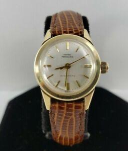 Vintage Girard Perregaux 14kt Yellow Gold Gyromatic Watch - 22mm