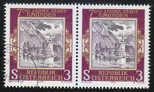 Austria 1978 MNH & CTO NH Mi 1576 Sc 1082 Ort Castle,Gmunden City