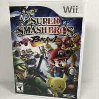 Super Smash Bros. Brawl - Nintendo  Wii Game Missing Manual Tested