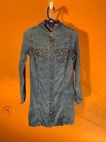 Gap Blue Jeans Special Denim shirt dress with pockets sz. 2