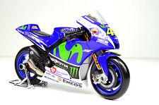 Maisto 1:18 YAMAHA 2016 YZR-M1 MotoGP Valentino Rossi Motorcycle Bike Model NO46