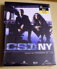 DVD Box CSI: NY Staffel Season 1 One Eins - Epsioden 1 - 12 DVDs 1.1 Neu OVP