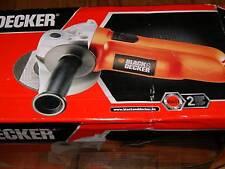 NEW BLACK & DECKER ANGLE GRINDER 900 W, 100 mm, 4 inch KG900-XE  [BIG 900 WALTS]