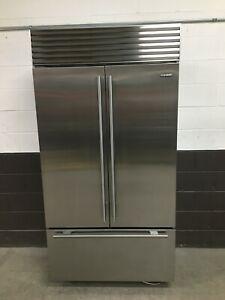 "Sub-Zero BI-42UFD/S/TH 42"" Classic Buit-In French Door Refrigerator Stainless"