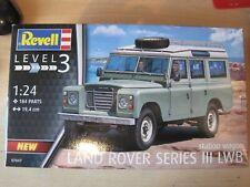 Land Rover Serie 3 LWB Geländewagen 1:24 *NEU* Revell Bausatz