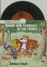 "Jungle Four shame and Scandal in the Family / Move heaven and earth , 7"" 45"