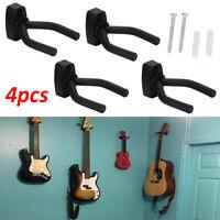 Adjustable 4X Guitar Hanger Wall Mount Display Bracket Hook Holder Bass Stands