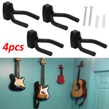 4X Guitar Hanger Adjustable Wall Mount Display Bracket Hook Holder Bass Stands