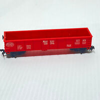 Lionel #0865-250 HO Scale Michigan Central Railroad MCRR Red Gondola Train Car