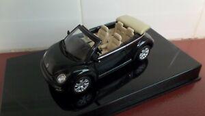 VW New Beetle Cabriolet in Alaska Green Metallic - 1:43 scale by AutoArt