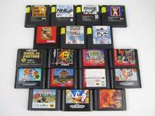 Sega Genesis Games Lot Bundle 18 games.