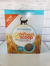 sWheat Scoop Natural Wheat Scoopable Cat Litter,Net Wt 15LBS (6.8KG)-New