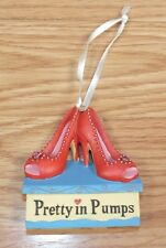 KSA Red High Heels on Box Pretty in Pumps Collectible Ornament **READ**