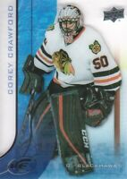 2015-16 Upper Deck Ice #57 Corey Crawford Chicago Blackhawks