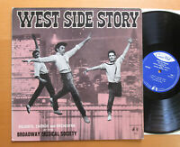 WEST SIDE STORY Broadway Musical Society 1962 Concert Hall BM 2254 EXCELLENT
