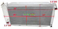 FOR fits for 71-73 Ford Mustang V8 MT Aluminum Racing 3 Row Radiator