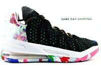 Nike Lebron XVIII 18 (Mens Size 12.5) Shoes CQ9283 002 Black Multicolor James