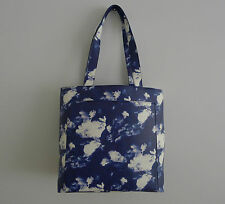 KATE SPADE Blue LITA STREET SHOPPER Tote CLOUDS Sky BAG Bow HANDBAG Andrea NEW !