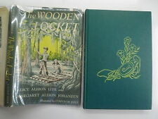 The Wooden Locket, Alice Lide, Corydon Bell, DJ, Viking/Guild, 1953