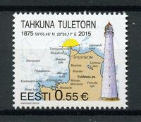 Estonia 2015 MNH Takhuna Lighthouse 1v Set Lighthouses Architecture Stamps